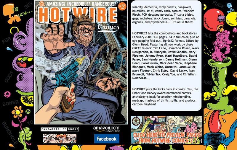 HOTWIRE COMICS #2