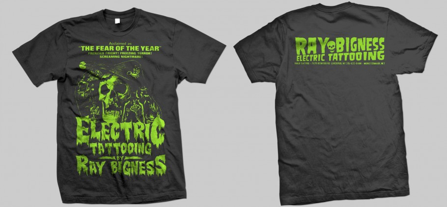 Ray Bigness t-shit design