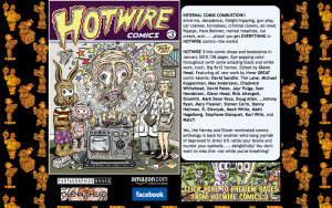 HOTWIRE COMICS # 3