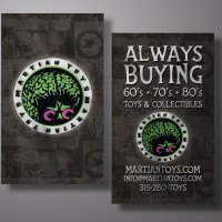 Martian Toys – Business Card