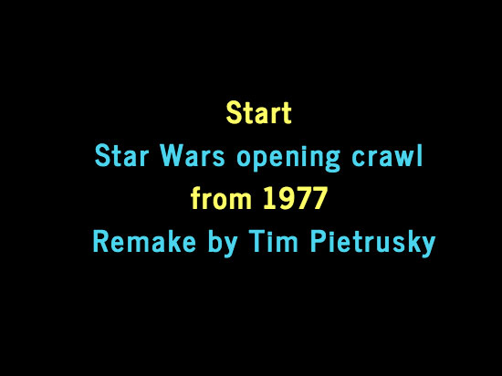 star wars opening crawl - photo #7